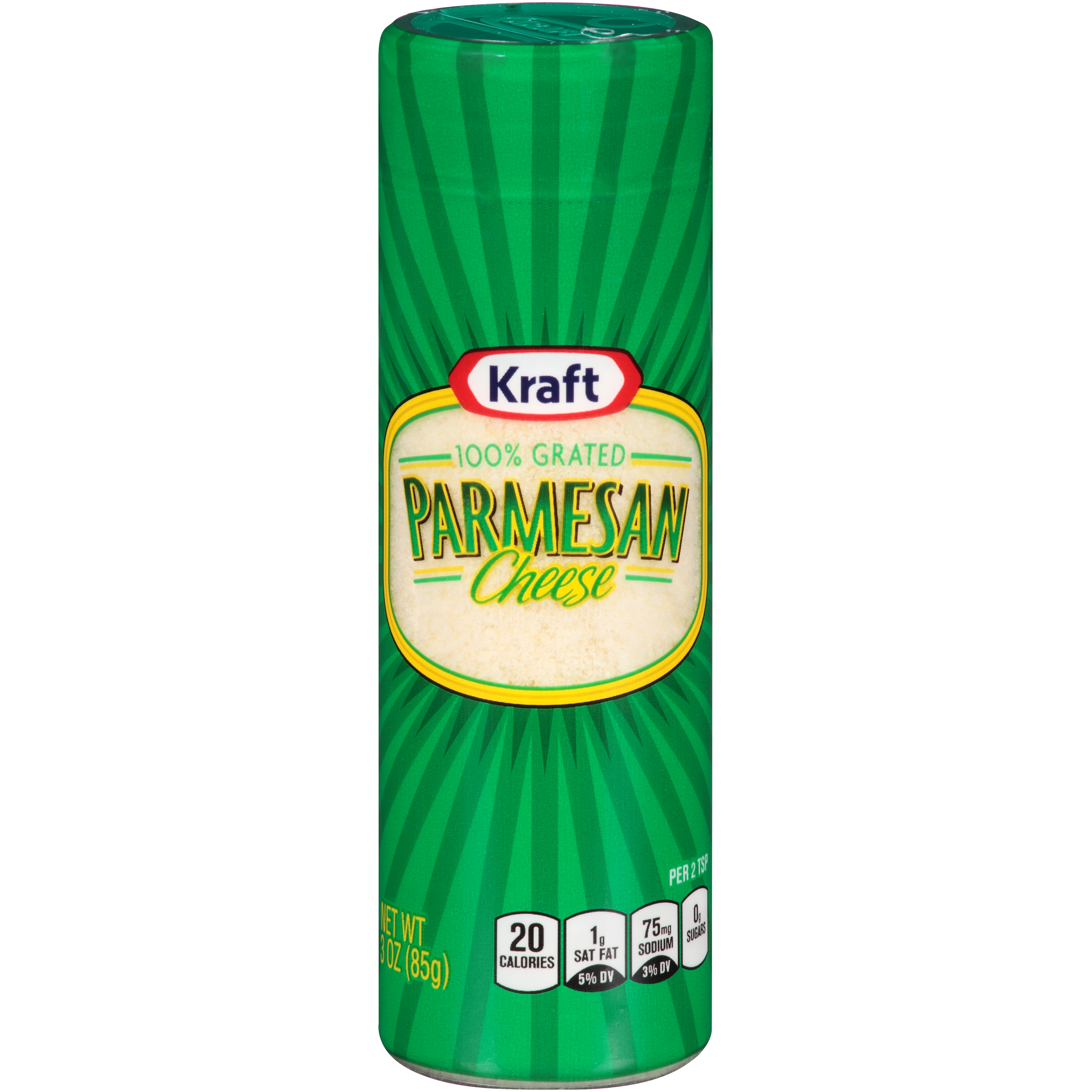 canister of parmesan