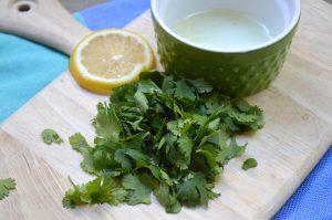 Lemon and Parsley for Cauliflower Rice