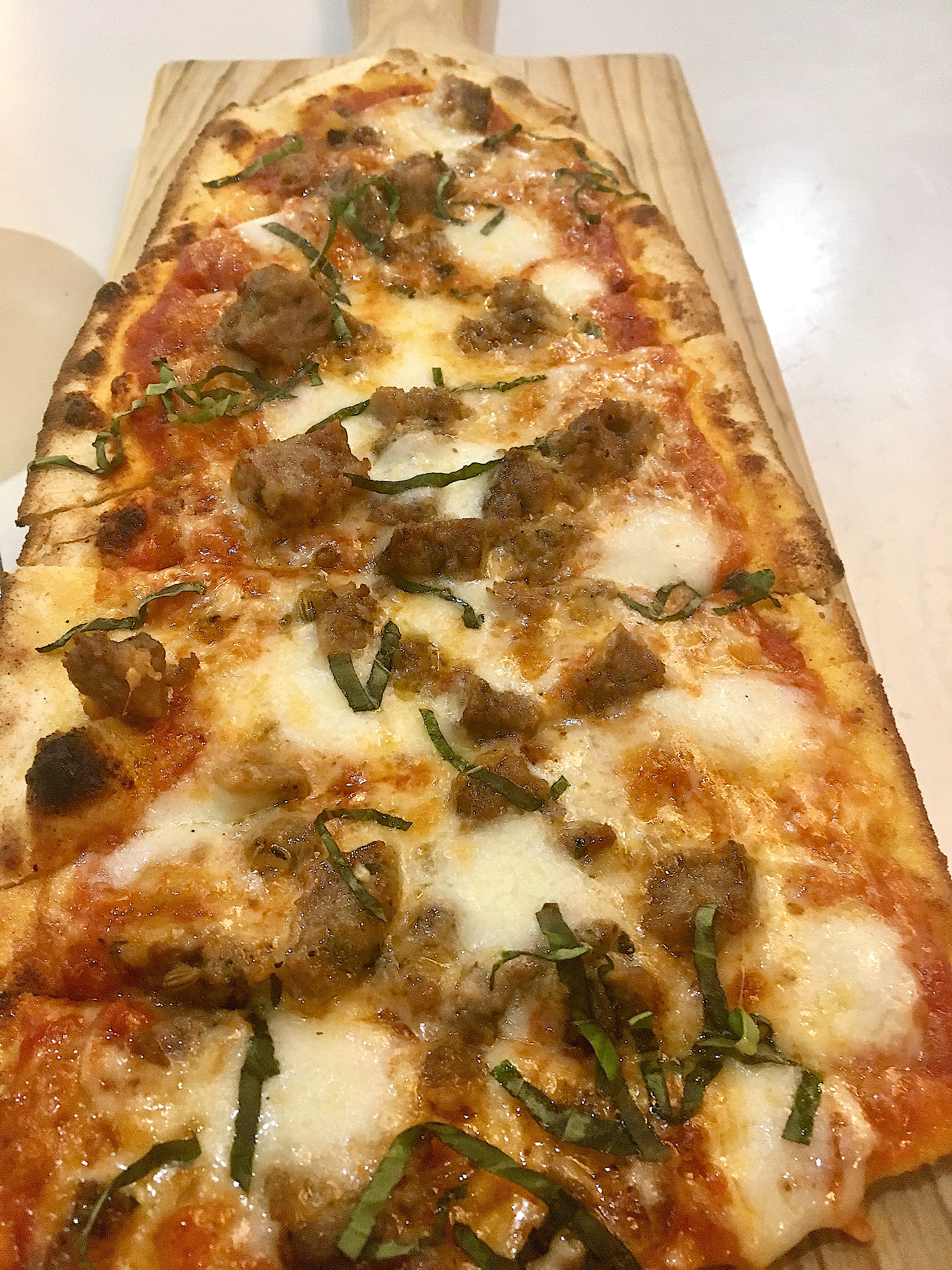 Homemade Meatball Flatbread Emeril's