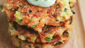 Amazingly delicious veggie flapjacks you can't stop eating