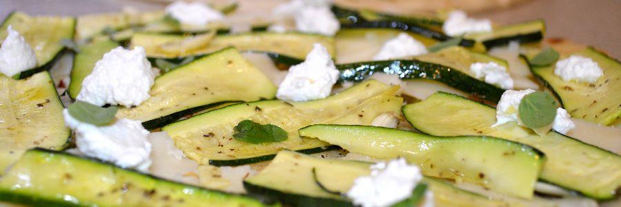 3 Step Zucchini Flatbread