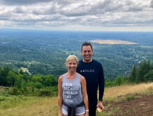 Mike and Me at Poo Poo Point, Tiger Mountain, Seattle