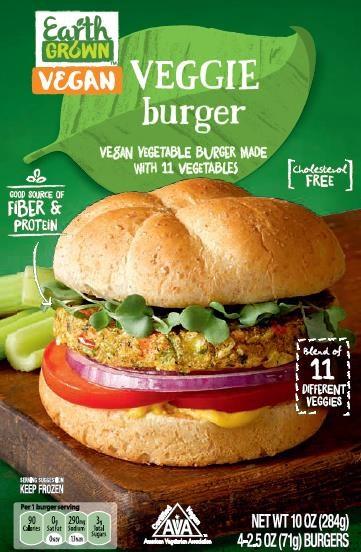 Aldi Veggie Burger